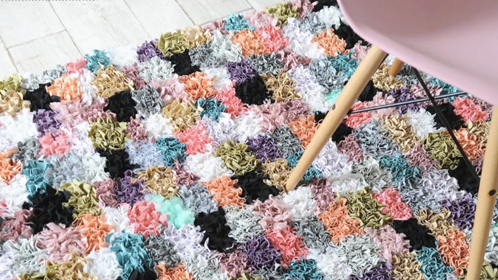 tapis tissu diy