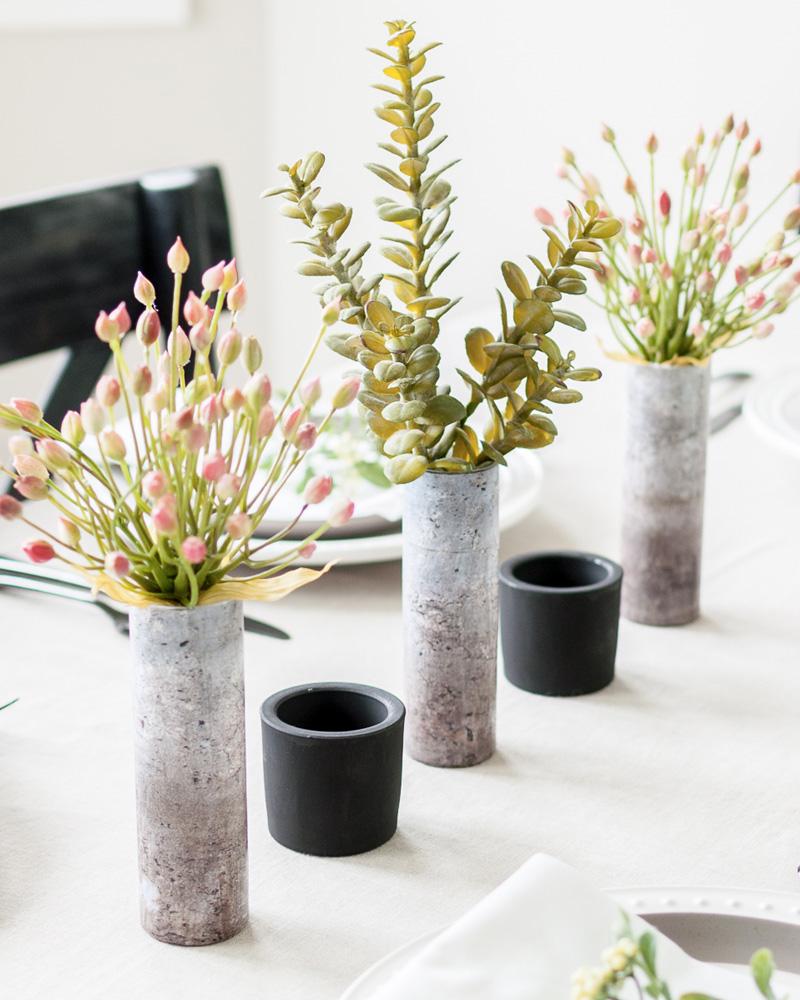 vase béton diy