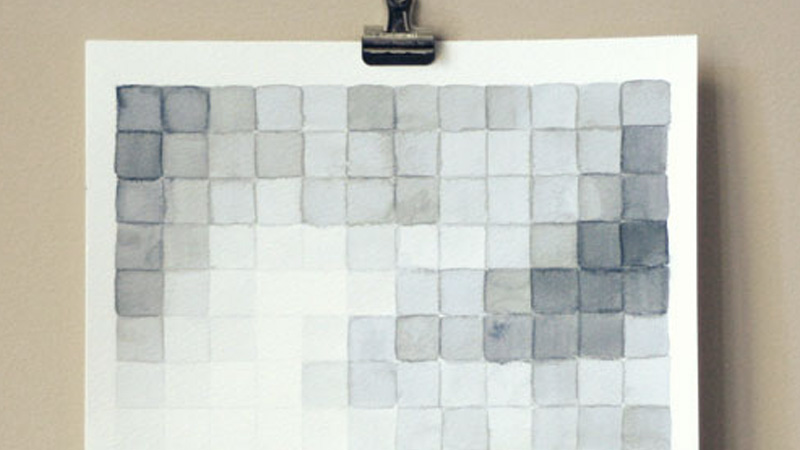 affiche pixel diy