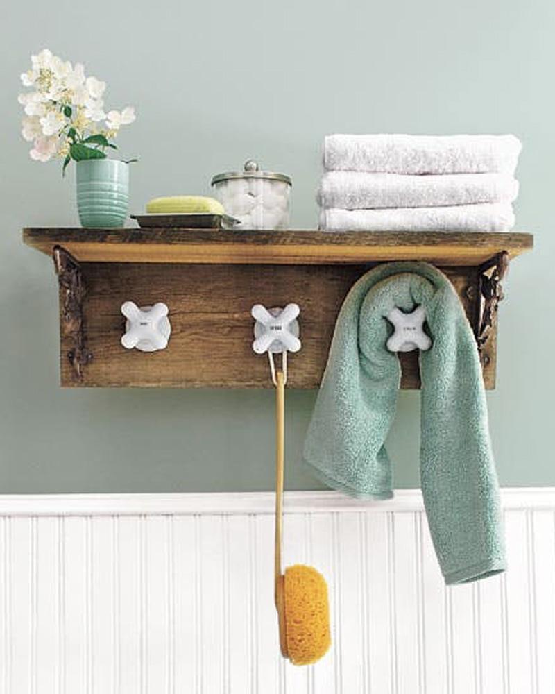 porte serviette diy