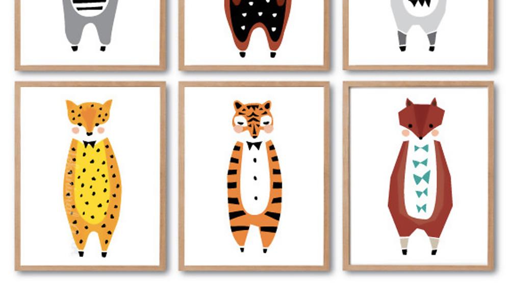 affiche animaux decanimal