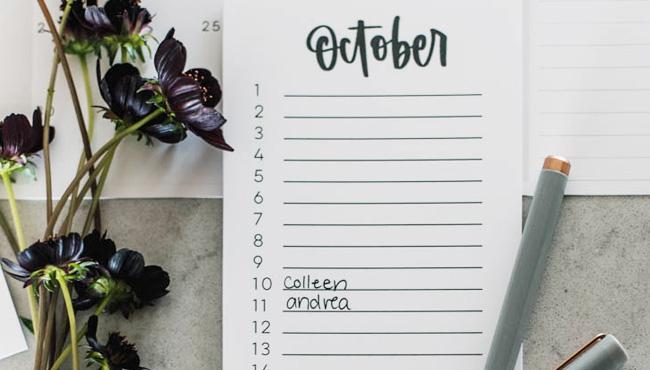 calendrier anniversaire à imprimer diy