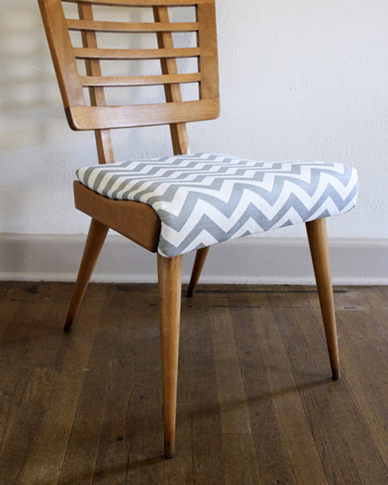 chaise chevron diy