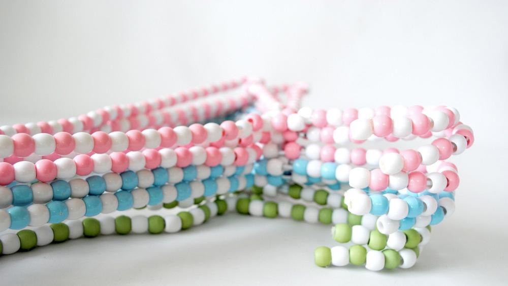 cintre perle diy