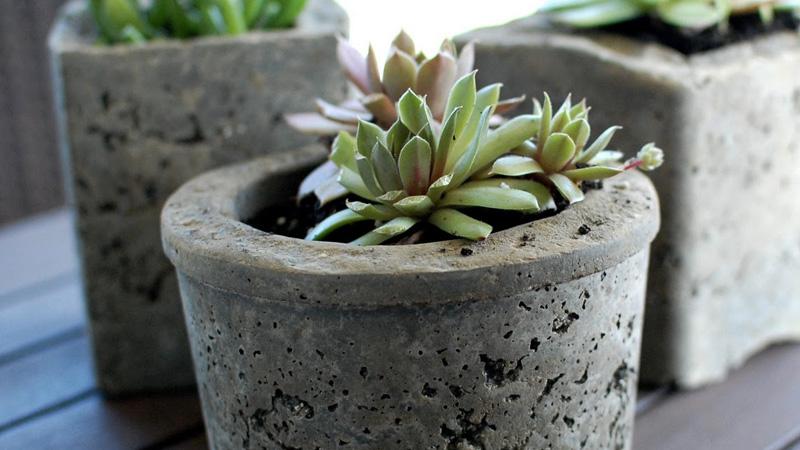 diy pot beton