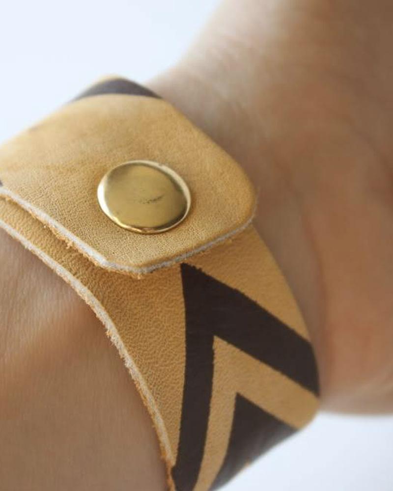 bracelet chevron diy