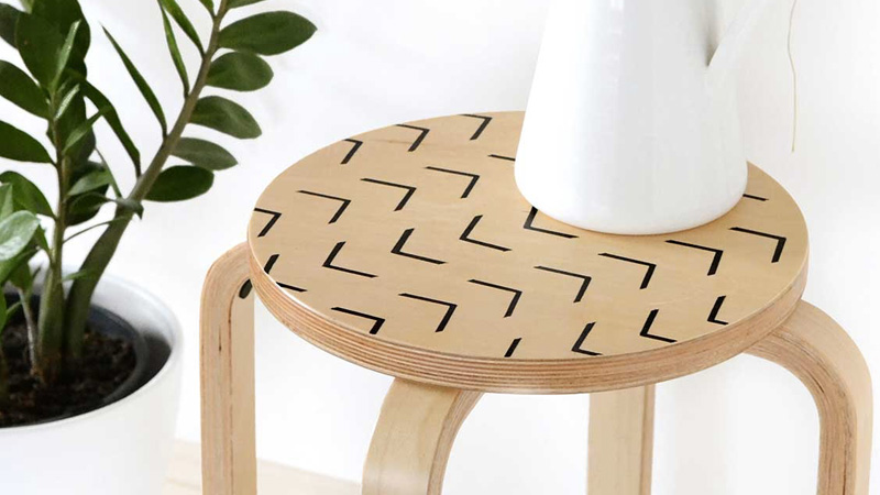 table appoint tabouret diy