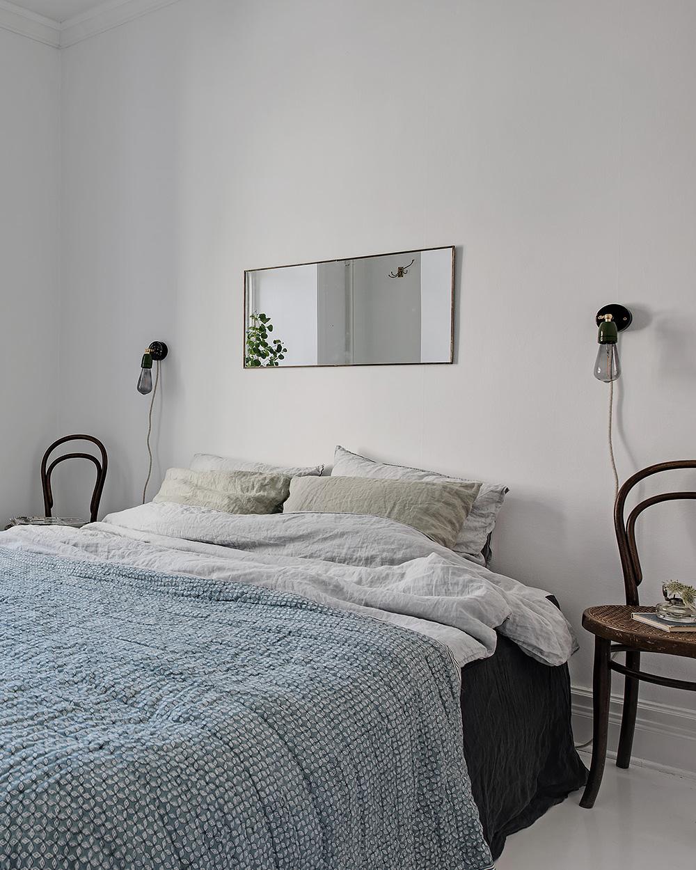 deco chambre scandinave blanche
