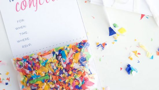 invitation carte anniversaire diy