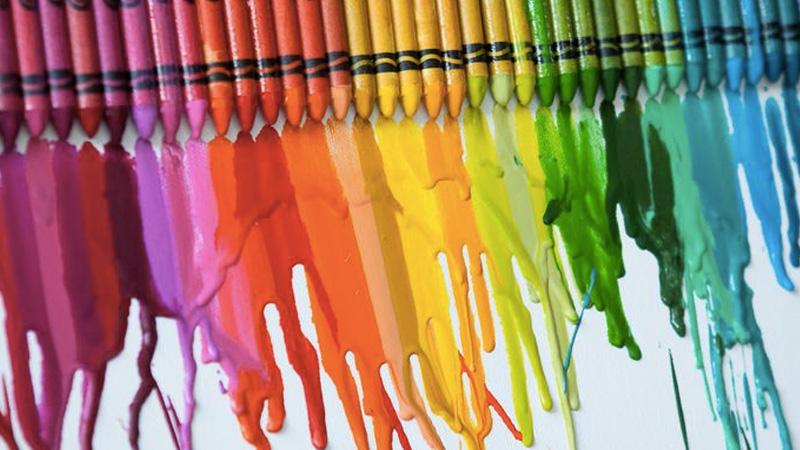 tableau colore craie diy