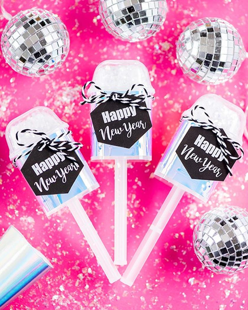 canon confettis diy nouvelle année
