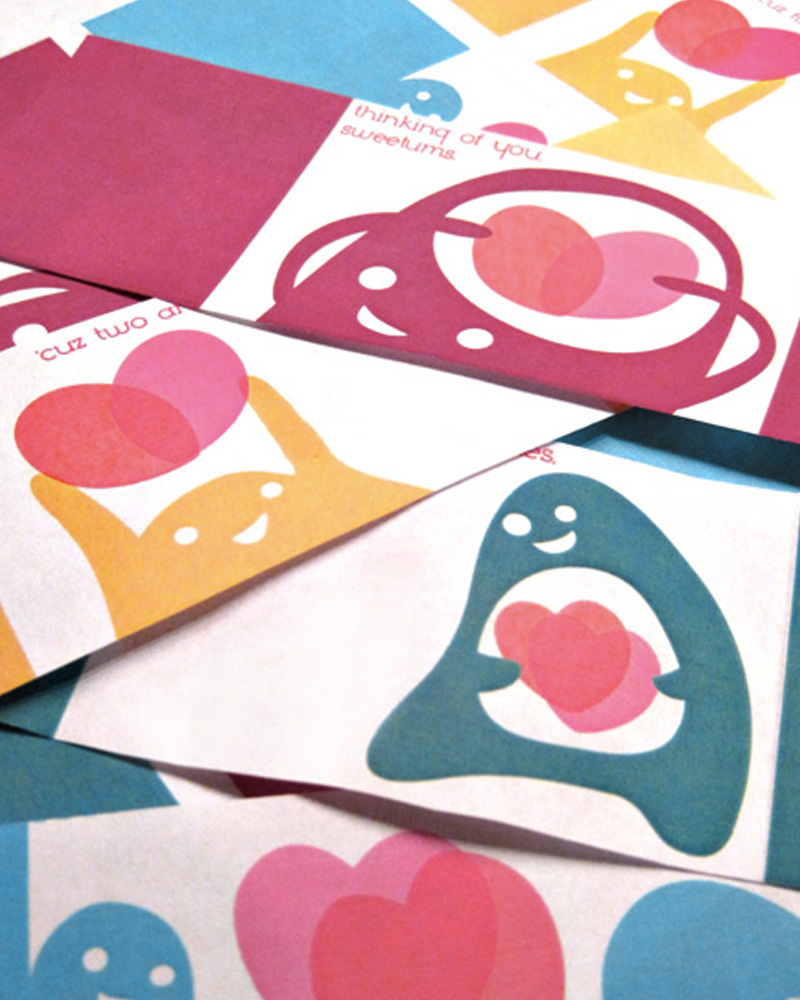 carte monstre diy saint valentin