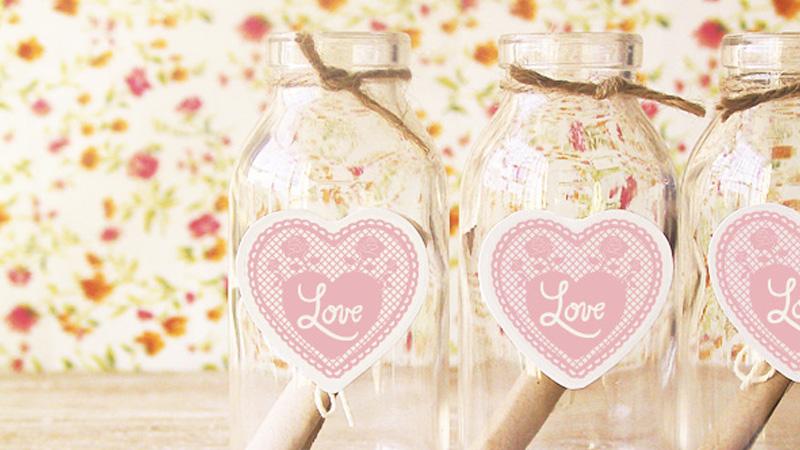 étiquette diy saint valentin