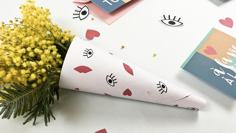 kit à imprimer saint valentin