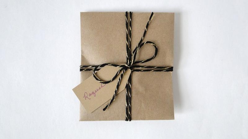 paquet cadeau enveloppe diy noel