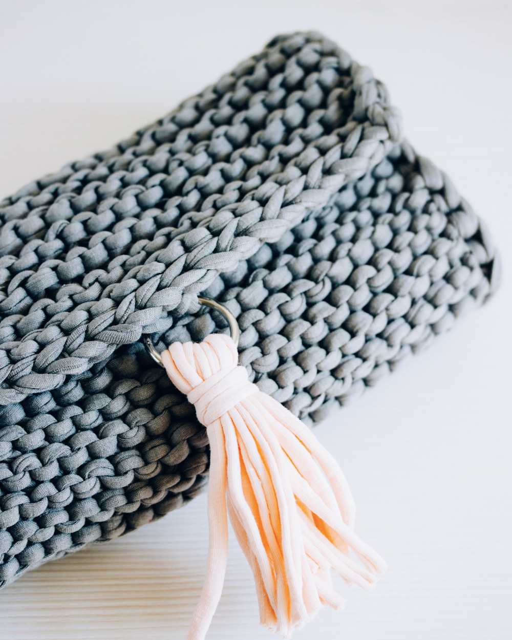 sac a main tricot diy
