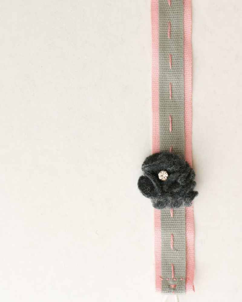 bracelet feutrine diy