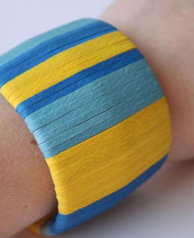 bracelet fil cuir diy