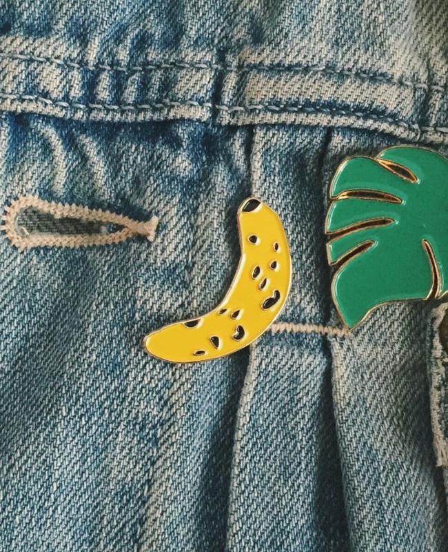 oelwein etsy pin's banane
