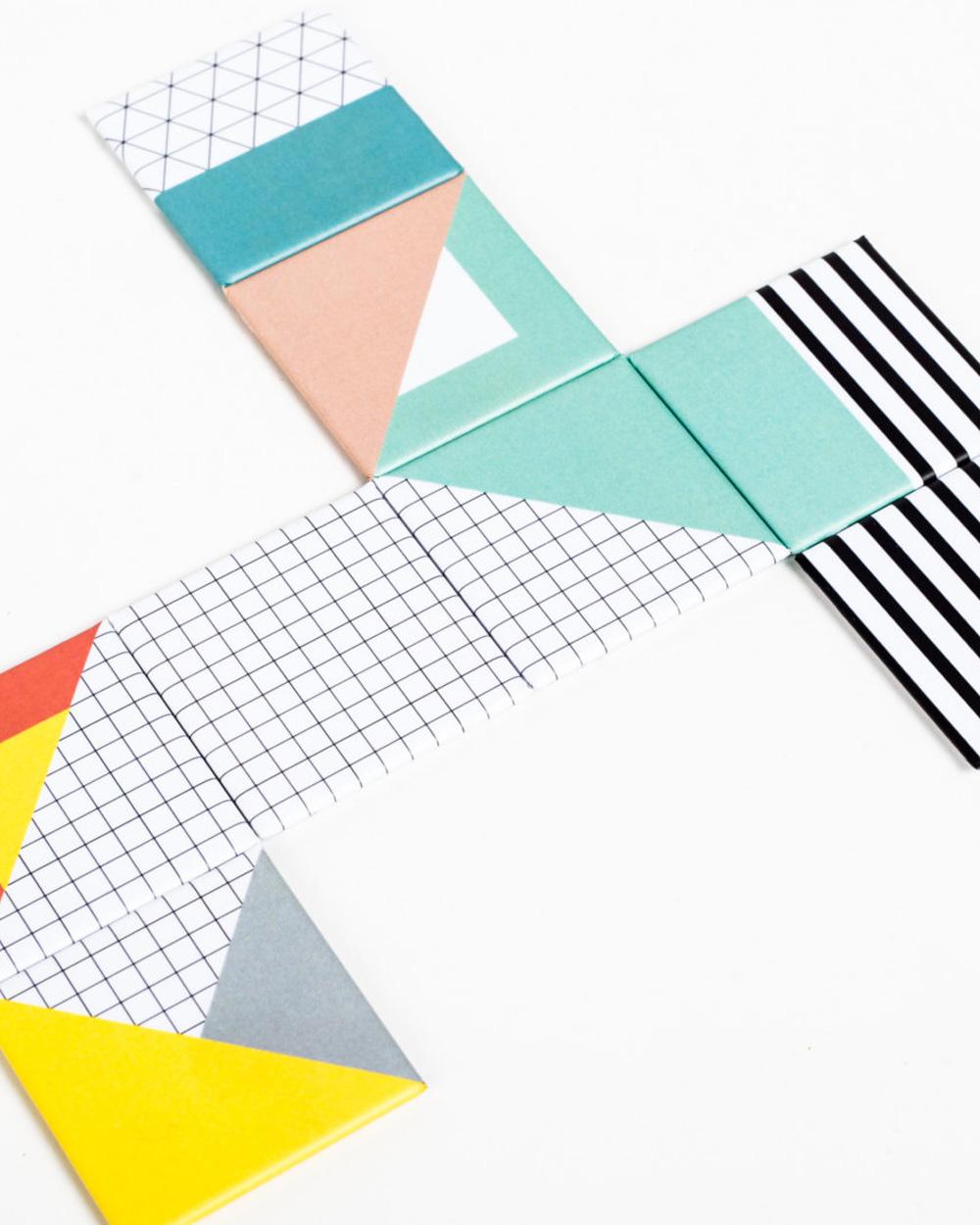 aimants graphiques colorés