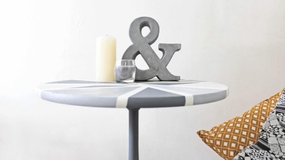 table basse géométrique diy