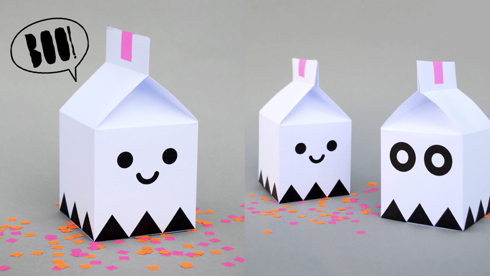 boite diy printable halloween
