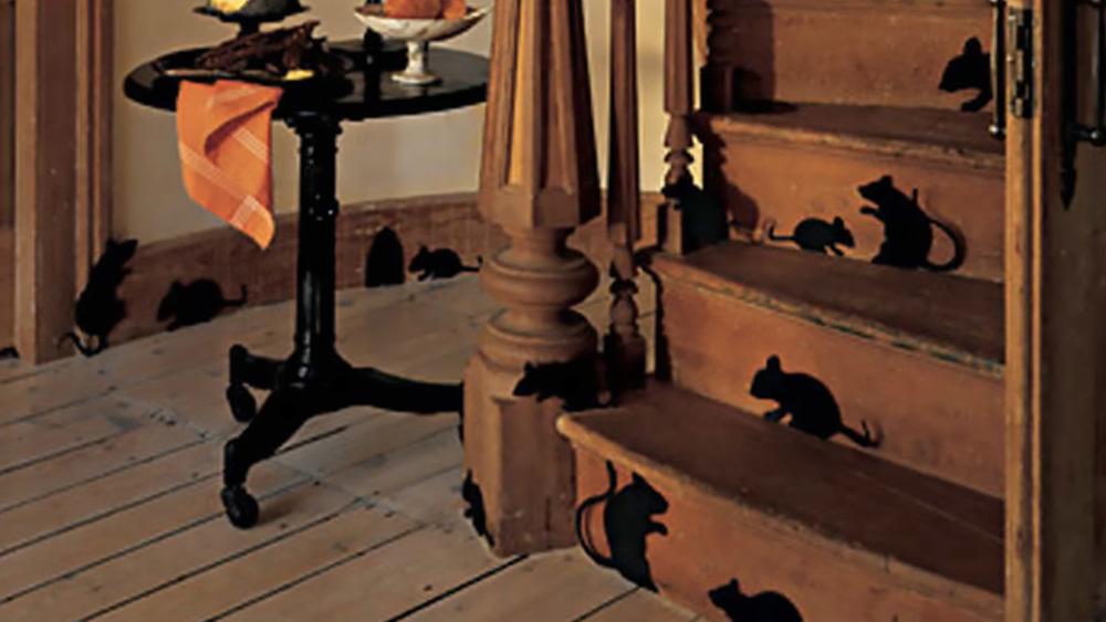 deco escalier halloween