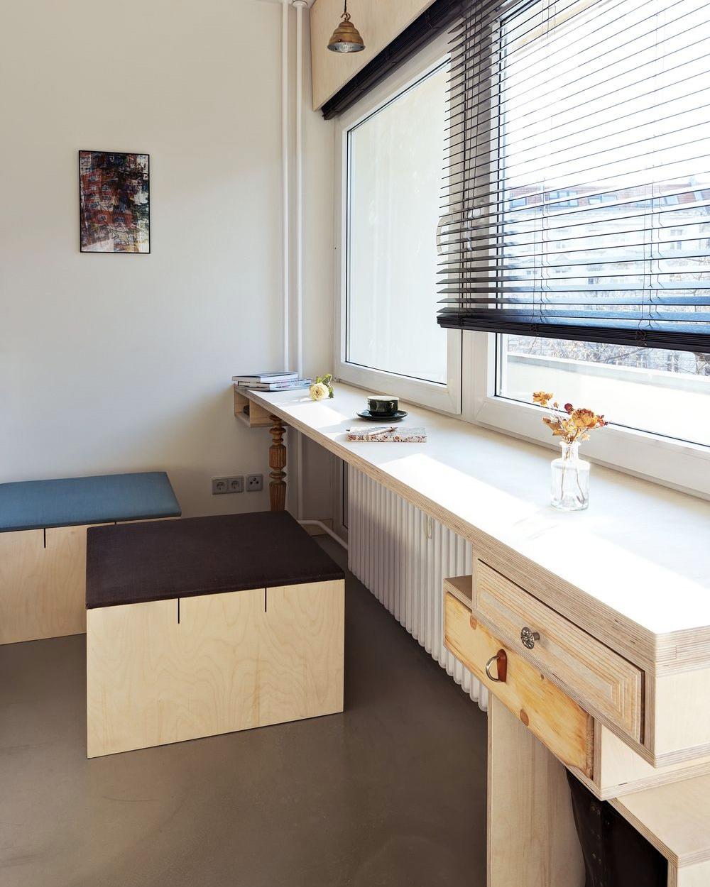 bureau d'un studio contemporain
