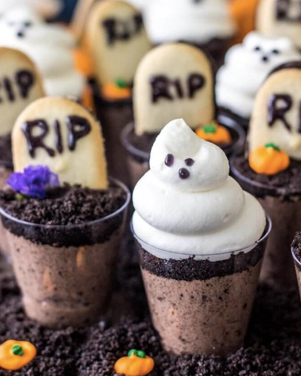 recette halloween tombe chocolat