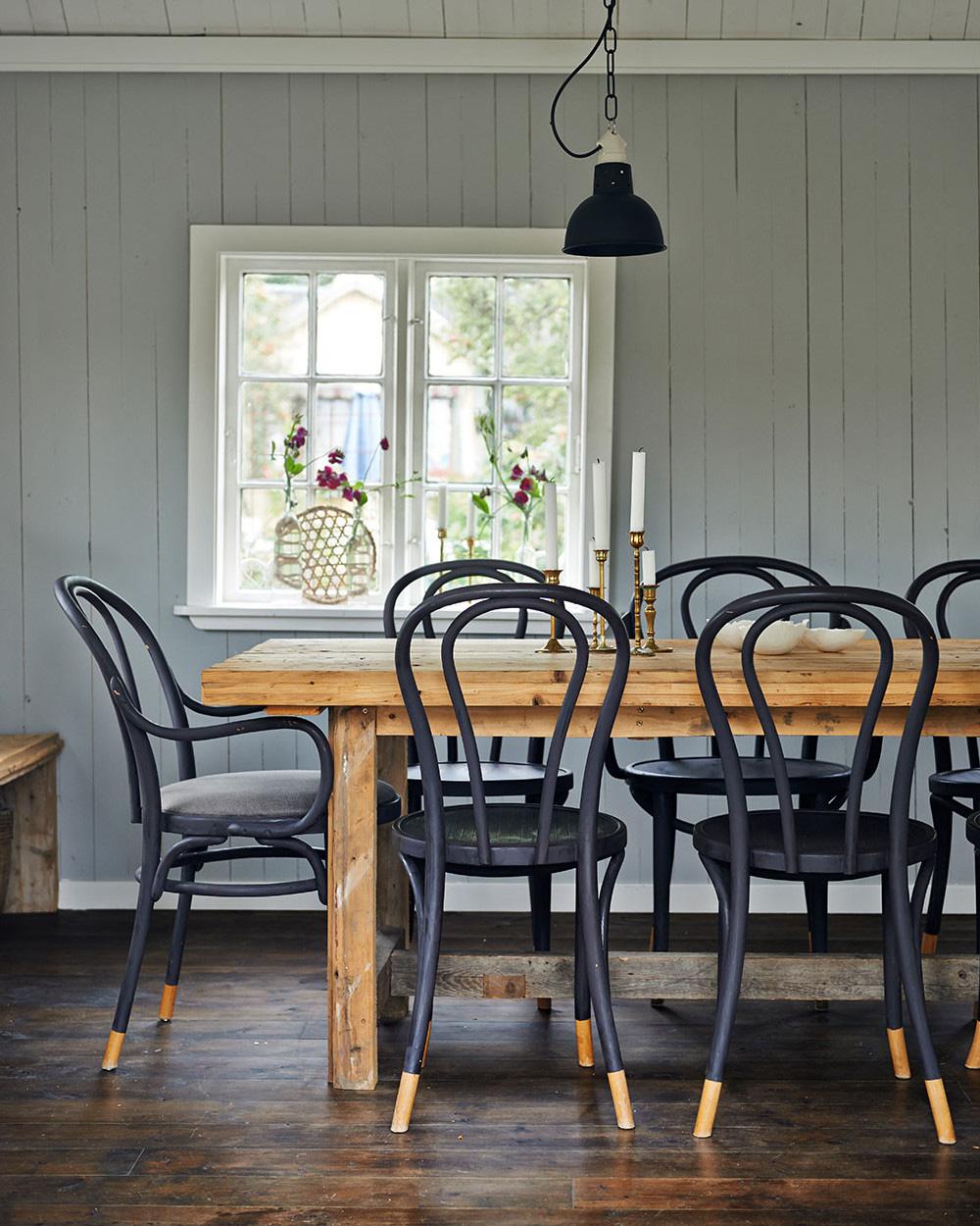 chaise bistrot diy peinture