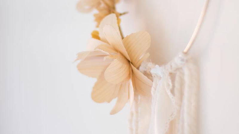 couronne fleur automne diy