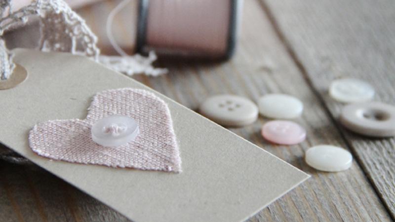 étiquette coeur diy saint valentin