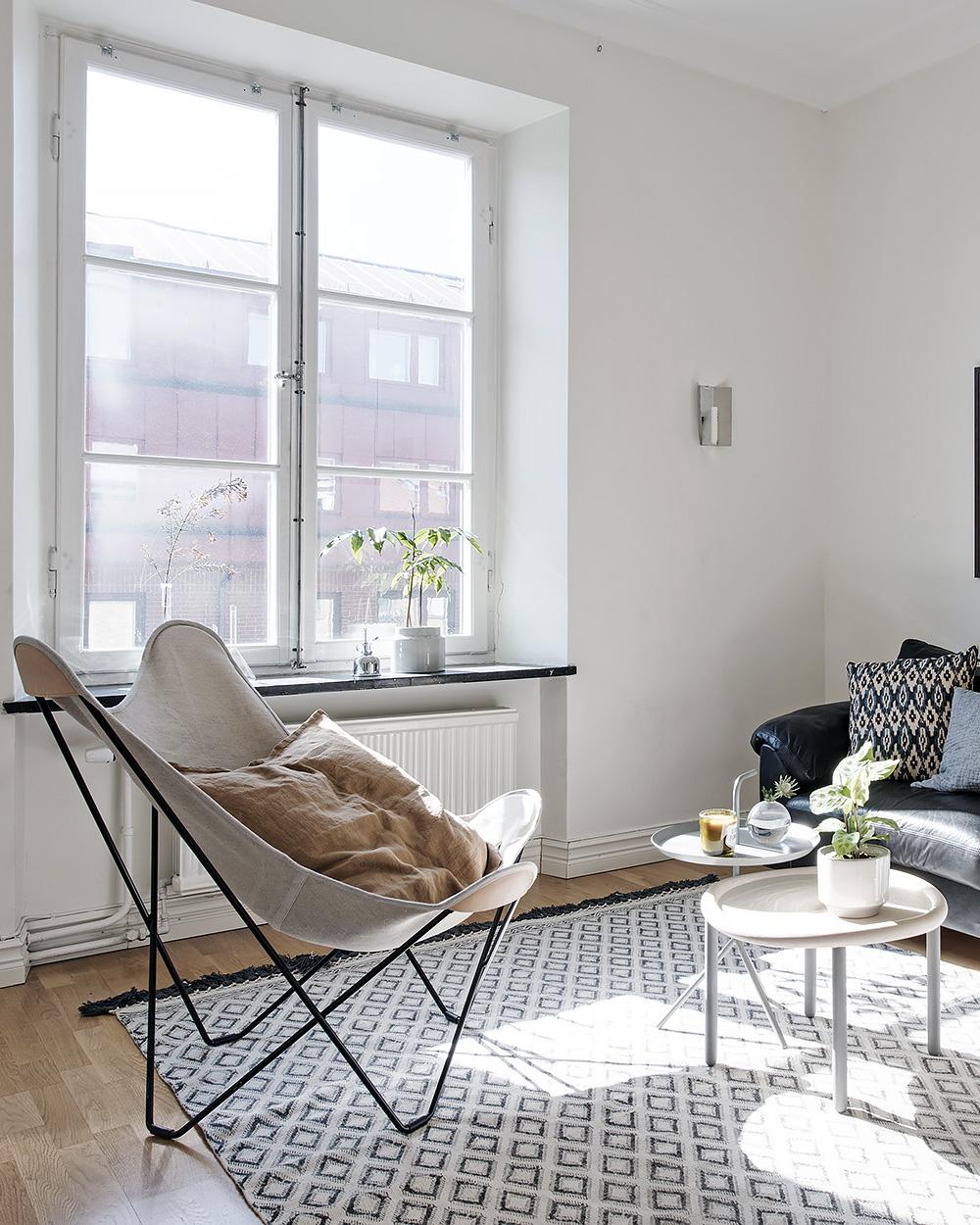 fauteuil deco salon scandinave