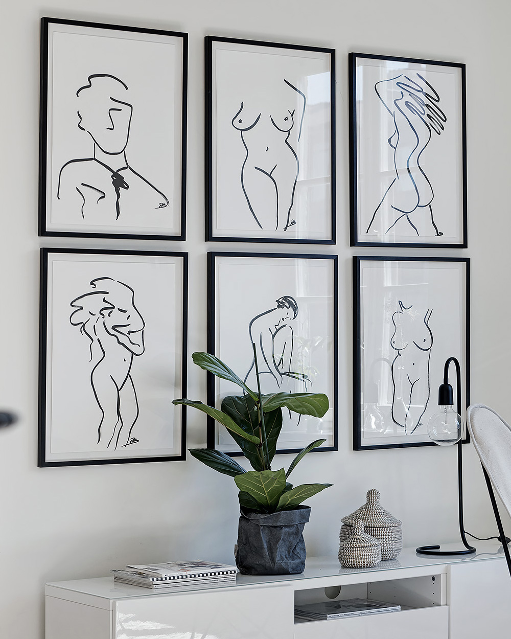 deco murale illustration