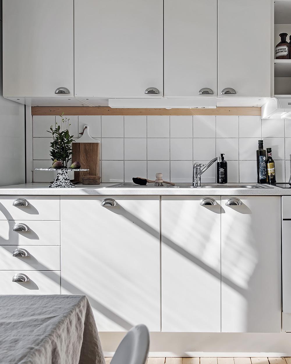 meubles cuisine blancs