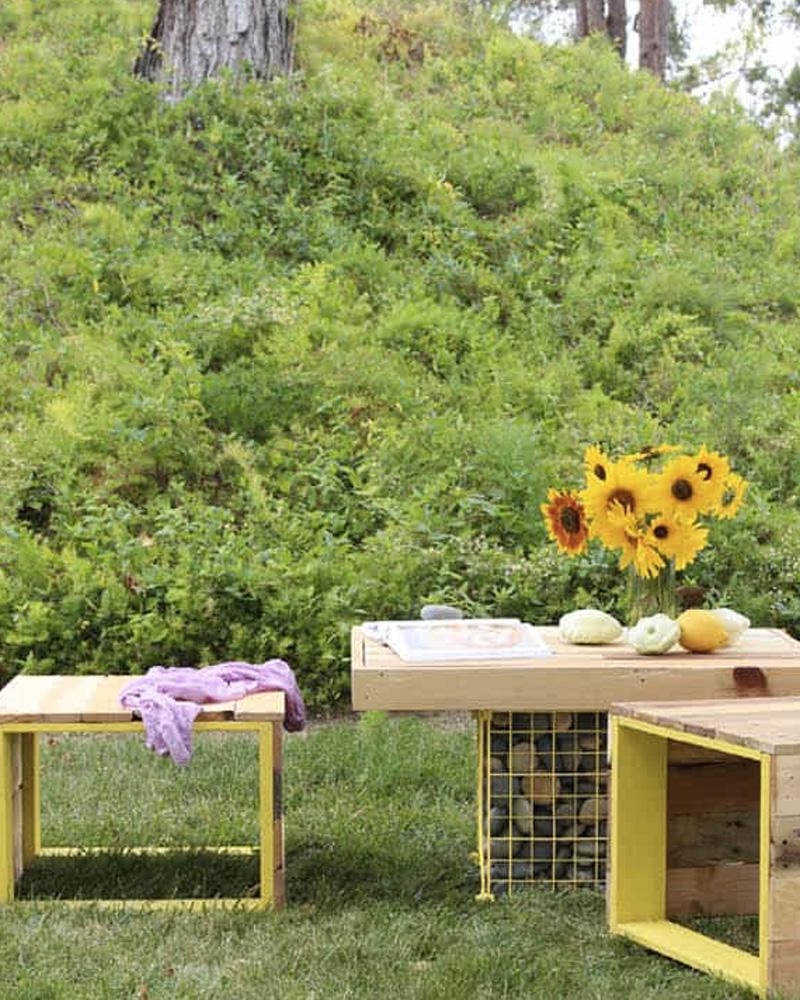 table jardin moderne diy