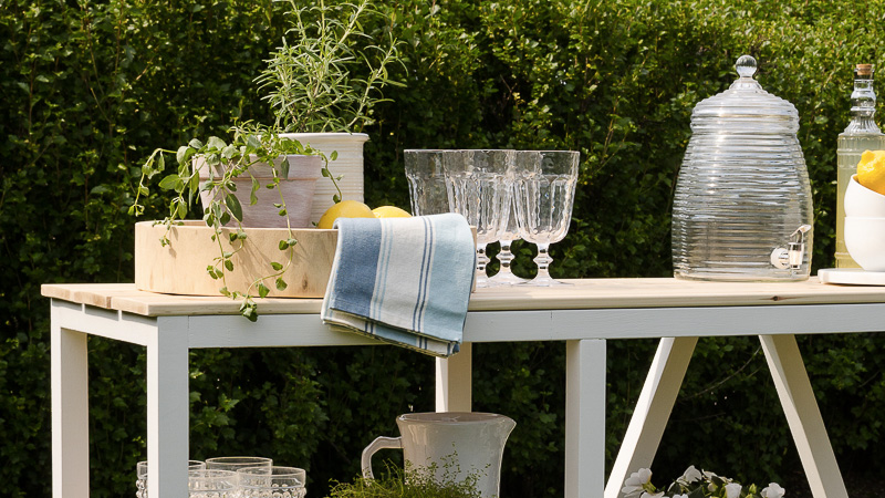DIY Table Jardin | Shake My Blog