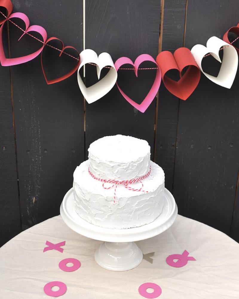 guirlande coeur diy mariage