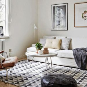 deco scandinave salon
