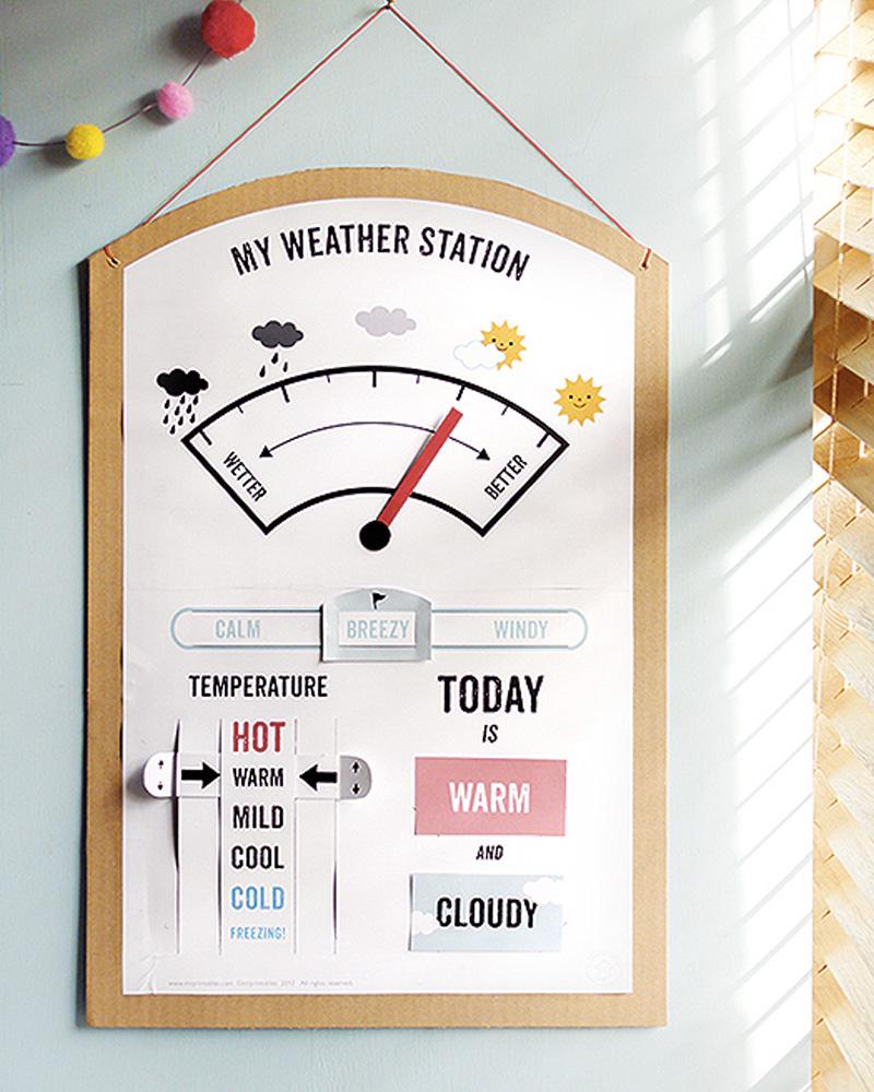 station météo enfant diy