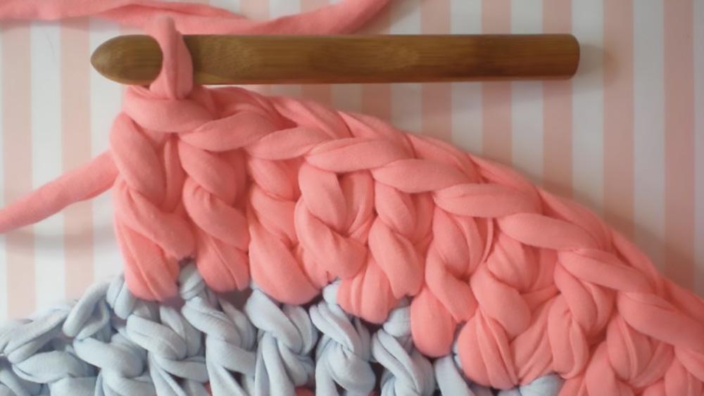 tapis crochet diy tricot