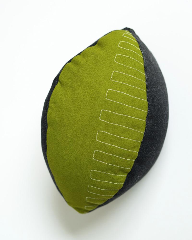 ballon rugby tissu diy