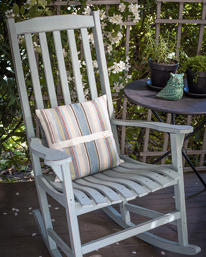 rocking chair vintage diy