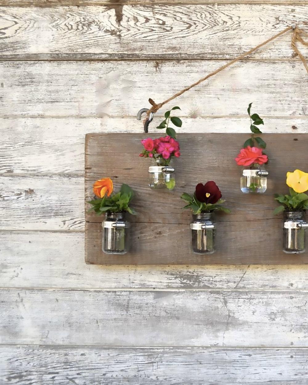 tableau floral diy