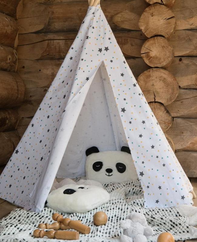 coussin animal enfant panda