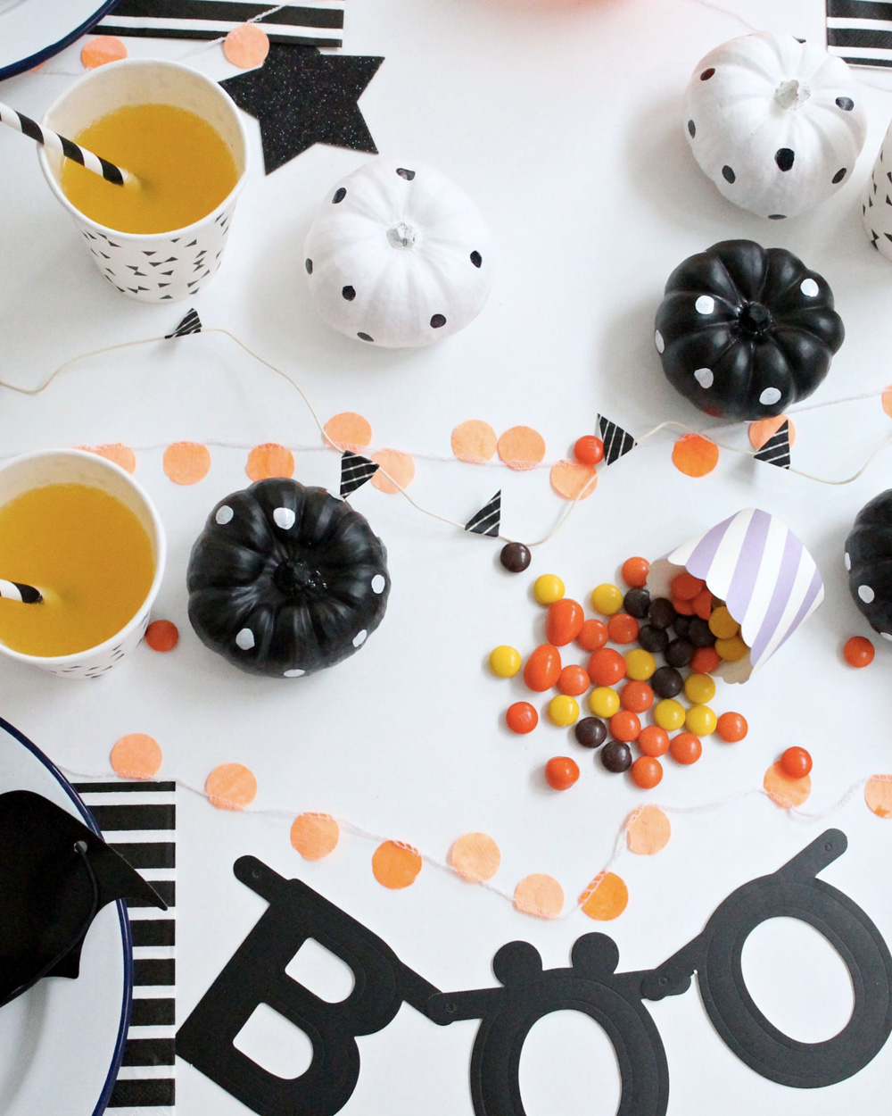 deco table halloween enfant