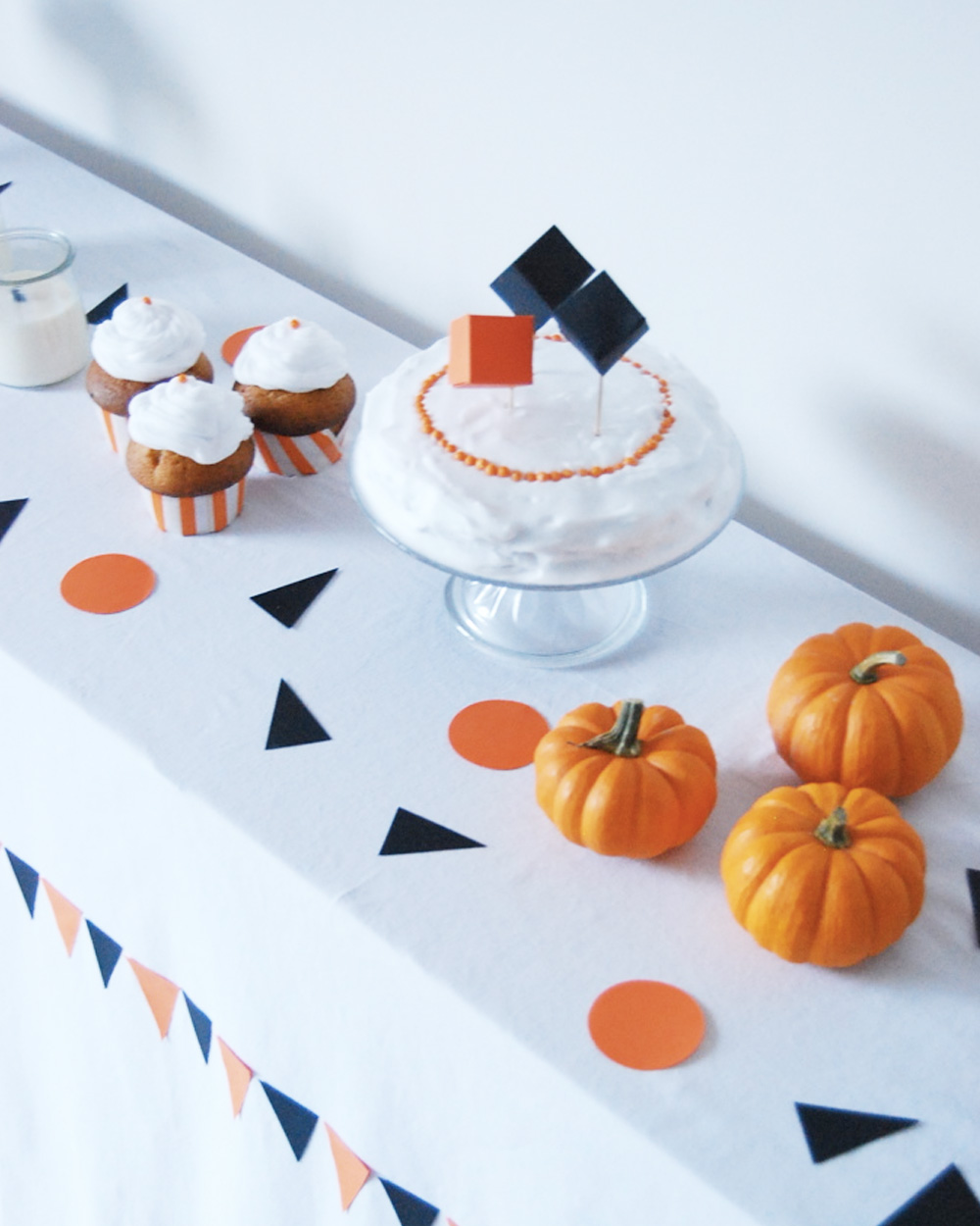 diy deco halloween deco gateau