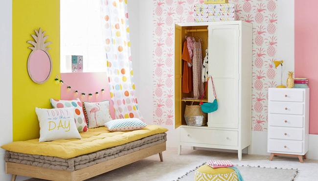 armoire vintage chambre enfant
