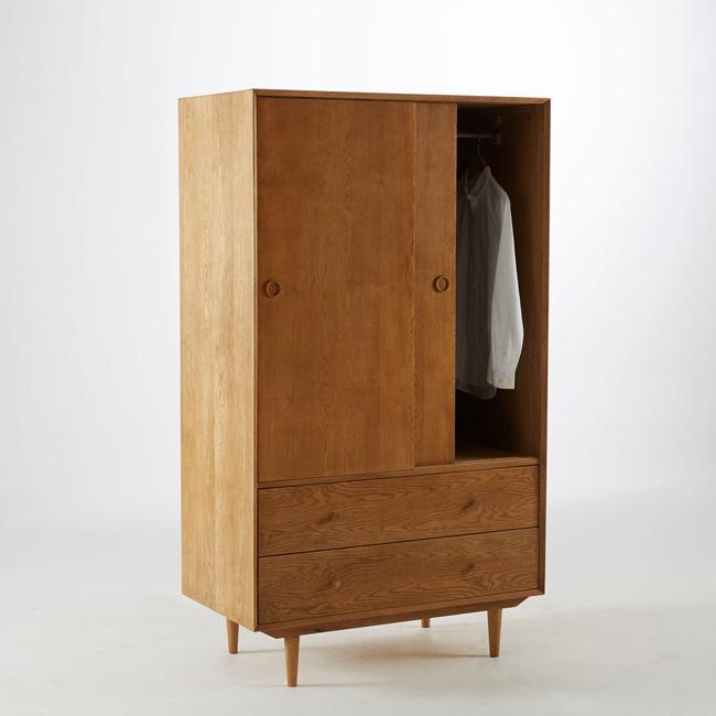 armoire vintage enfant bois