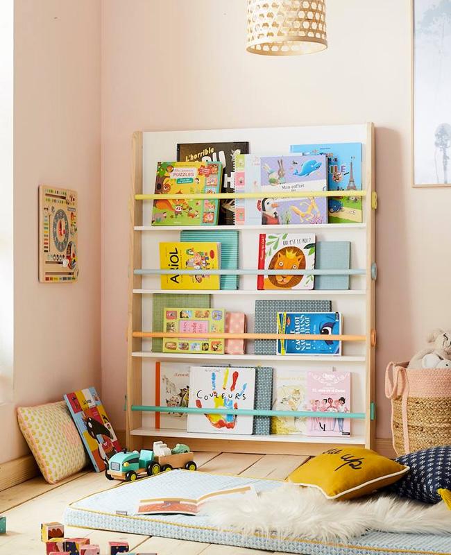 bibliothèque enfant présentoir